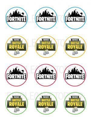 Fortnite Battle Royale Edible Image Cupcake Cookie Topper